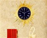 Đồng hồ treo tường thần mặt trời vô cùng sang trọng và ấn tượng BS6811-V