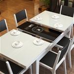 Bộ bàn bếp ăn kèm bếp hồng ngoại vô cùng tiện dụng và hiện đại CZ20