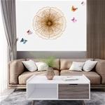 Decor trang trí 3D cách điêu tuyệt đẹp cho không gian thêm sống động đầy ấn tượng SM3396 size 35cm
