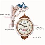 Đồng hồ treo tường hai mặt phong cách Hoàng Gia vô cùng ấn tượng và sang trọng 8825