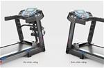 Máy chạy bộ tại nhà đa chức năng màn hình màu 7 inch có thể gấp gọn vô cùng tiện lợi H7D