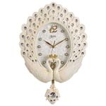Đồng hồ trang trí khổng tước may mắn đậm chất hoàng gia Châu Âu BS6569-TR