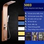 Vòi sen tắm điều khiển đa chức năng vô cùng tiện nghi cho phòng tắm hiện đại 5003