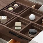 Bàn cafe thông minh với ngăn lưu trữ tiện lợi tiết kiệm diện tích cho ngôi nhà vô cùng sáng tạo