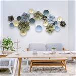 Bô trang trí hoa lá 3D cho không gian thêm sống động đầy ấn tượng 391
