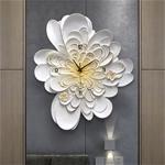 Đồng hồ thiết kế hình hoa nghệ thuật cho không gian thêm ấn tượng M0020_BE
