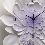 Đồng hồ thiết kế hình hoa nghệ thuật cho không gian thêm ấn tượng M0020_PP