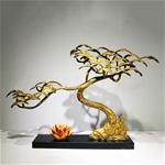 Cây thông vàng trang trí tuyệt đẹp cho không gian đầy ấn tương FAN-2130
