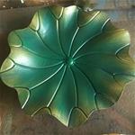 Hoa sen vàng 3D trang trí tuyệt đẹp cho không gian đầy ấn tương FAN-2133
