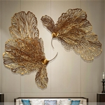 Decor sắt 3D trang trí hình cánh bướm tuyệt đẹp 2030