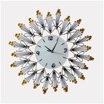 Đồng hồ treo tường hoạ tiết hoa văn vô cùng độc đáo 1049