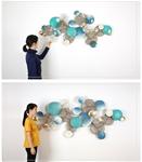 Decor lá sen trang trí 3D cách điêu tuyệt đẹp cho không gian thêm sống động đầy ấn tượng SM4324 khổ 1,3m