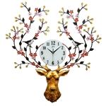 Đồng hồ treo tường thiết kế hươu vô cùng ấn tượng, thương hiệu bisa độ bền trên 20 năm BS918-100