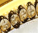 Đèn LED pha lê ốp trần sang trọng đầy ấn tượng LA865-D300
