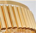 Đèn chùm pha lê phong cách Châu Âu sang trọng đầy ấn tượng 8532 màu trắng size 60*70cm