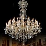Đèn chùm pha lê phong cách Châu Âu sang trọng đầy ấn tượng HD318001-45