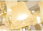 Đèn chùm pha lê phong cách Châu Âu sang trọng đầy ấn tượng LA863-6-10