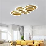 Đèn ốp trần phòng khách cho không gian thêm sang trọng và hiện đại 6699 size 110cm