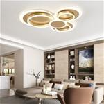 Đèn ốp trần phòng khách cho không gian thêm sang trọng và hiện đại 6699 size 72cm