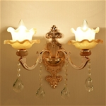 Đèn ốp tường tân cổ điển phong cách Châu Âu sang trọng đầy ấn tượng  LA868-6-2DT