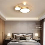 Đèn trần thiết kế độc đáo lạ mắt cho không gian thêm ấn tượng XH-H6837 màu vàng size 55cm