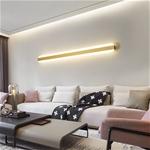 Đèn tường LED dài siêu mỏng phong cách Bắc Âu ấn tượng XH-BC7037 size 120cm