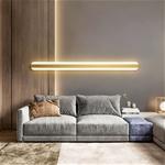 Đèn tường LED dài siêu mỏng phong cách Bắc Âu ấn tượng XH-BC7037 size 150cm