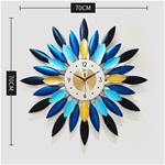 Đồng hồ treo tường thiết kế sang trọng hiện đại cho không gian thêm ấn tượng BS202012