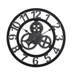 Đồng hồ treo tường hiện đại thiết kế độc đáo đầy ấn tượng BS5868-60BL