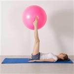 Bóng Tập Yoga Trơn 65CM Xám