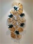 Đồng hồ treo tường 3D nghệ thuật cho không gian thêm ấn tượng BS1025BU