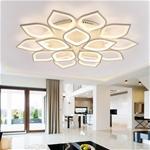 Đèn LED ốp trần phòng khách thiết kế hiện đại sáng tạo đầy ấn tượng YKL-083 màu trắng
