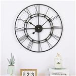 Đồng hồ treo tường trang trí phong cách Bắc Âu ấn tượng 1288 màu đen