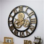Đồng hồ trang trí thiết kế bánh răng ấn tượng BS5868 size 50cm