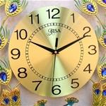 Đồng hồ đuôi công mang đến phú quý may mắn cho gia chủ BS1813