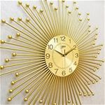 Đồng hồ treo tường tia vàng cho không gian hiện đại thêm ấn tượng BS1925