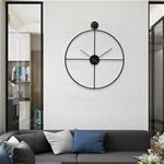 Đồng hồ treo tường trang trí phong cách Bắc Âu ấn tượng YX2043 màu đen