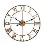 Đồng hồ treo tường trang trí phong cách Bắc Âu ấn tượng A93 màu đồng