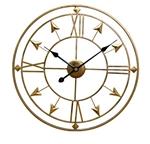 Đồng hồ treo tường trang trí phong cách Bắc Âu ấn tượng YX2006 màu đồng
