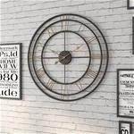 Đồng hồ treo tường trang trí phong cách Bắc Âu ấn tượng YX2007 màu đen