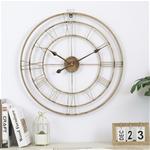 Đồng hồ treo tường trang trí phong cách Bắc Âu ấn tượng YX2007 màu đồng