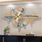Đồng hồ treo tường trang trí 3D cho không gian hiện đại thêm ấn tượng 2154