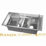 Chậu rửa bát cao cấp Ranox RN4468 phủ nano chống xước