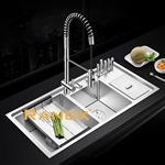 RANOX Luxury Triple Bowl Topmount Sink RN4433- Chậu rửa bát 3 hố cao cấp