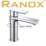 Vòi rửa mặt Hàn Quốc Ranox gương nóng lạnh RN309