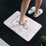 Thảm đá siêu thấm nước nhanh khô cho phòng tắm hiện đại mã 036