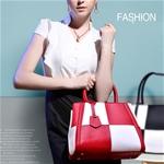 Túi xách nữ phong cách châu âu hình caro tạo nên sự trẻ trung và hút hồn mọi ánh nhìn