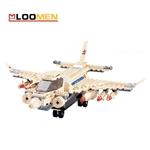 Đồ chơi LEGO lắp ráp mô hình máy bay JJ002976 cho trẻ phát triển tư duy