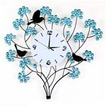 Đồng Hồ Canh Hoa và Những Chú Chim Sẻ Tạo Nên Không Gian Cực Ký Ấn Tượng J1015