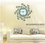 Đồng hồ treo tường hoa pha lê cho không gian sang trọng JT1383